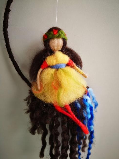 hada de lana peinada
