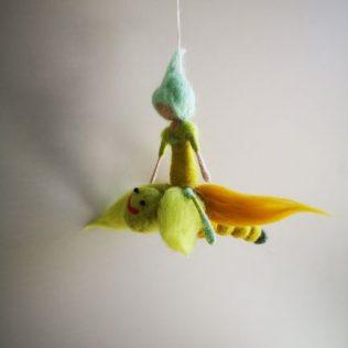 Duendecillo volando