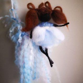 Bonita hada de lana