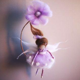 Hada color lila